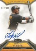 2013 Topps Tier One On the Rise Autographs #SM Starling Marte NM-MT Auto 99/399