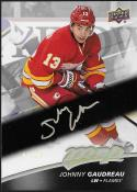 2017-18 Upper Deck MVP Super Script #212 Johnny Gaudreau NM-MT 7/25 Flames