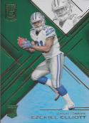 2016 Donruss Elite Retail Green #164 Ezekiel Elliott NM-MT RC Cowboys