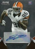 2012 Bowman Sterling Autographs #94 Josh Gordon NM-MT Auto Browns
