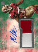 2013 Topps Inception Green Autographed Jumbo Patch #IAJP-ML Marcus Lattimore NM-MT MEM Auto 39/75 49ers