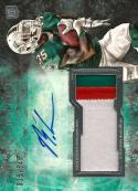 2013 Topps Inception Autographed Jumbo Patch #IAJP-MGI Mike Gillislee NM-MT MEM Auto 36/345 Dolphins