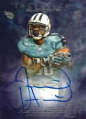 2013 Topps Inception Elements Autograph #IEA-JH Justin Hunter NM-MT Auto 16/25 Titans