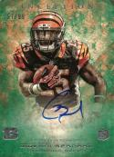 2013 Topps Inception Green Rookie Autographs #116 Giovani Bernard NM-MT RC Auto 57/99 Bengals