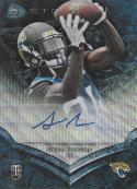 2014 Bowman Sterling Blue Wave Refractor Rookie Autographs #BSA-SJ Storm Johnson NM-MT RC Auto 9/15 Jaguars
