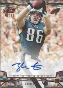 2013 Topps Prime Copper Autographed Rookie Variations #146 Zach Ertz NM-MT RC Auto 42/99 Eagles