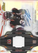 2014 Topps Finest Rookie Refractor Autographed Patch #RAP-JH Jeremy Hill NM-MT RC MEM Auto Bengals