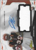 2014 Topps Finest Autographed Jumbo Relic Refractor #AJR-JH Jeremy Hill NM-MT RC MEM Auto Bengals