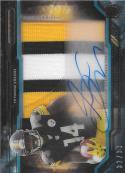 2015 Topps Strata Clear Autographed Relic Rookies Blue #CCAP-SC Sammie Coates NM-MT RC MEM Auto 32/99 Steelers