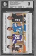 2007 Leaf Rookies and Stars Studio Rookies #53 JaMarcus Russell/Calvin Johnson/Adrian Peterson/Brady Quinn NM-MT Browns