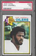 1979 Topps #390 Earl Campbell PSA 7 NM RC Oilers