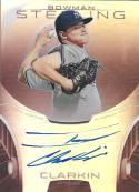 2013 Bowman Sterling Prospect Autographs Ruby Refractor #BASP-IC Ian Clarkin NM-MT RC Auto 80/99 Yankees