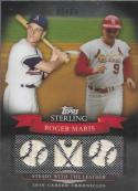 2010 Topps Sterling Career Chronicles Triple Relic #CCR52 Roger Maris NM-MT MEM 1/25