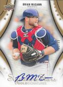 2009 Upper Deck Signature Gold Signatures #19 Brian McCann NM-MT Auto 22/35 Braves