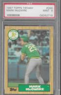 1987 Topps Tiffany #366 Mark McGwire PSA 9 MINT Athletics