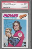 1977 Topps #525 Dennis Eckersley PSA 8.5 NM-MT-Plus Indians
