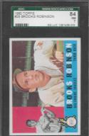1960 Topps #28 Brooks Robinson SGC 84 Orioles