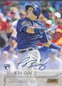 2015 Topps Stadium Club Gold Foil Autographs #SCA-JB Javier Baez NM-MT MEM 18/25 Cubs