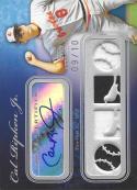 2008 Sterling Moments Relics Autographs Quad #4SMA150 Cal Ripken NM-MT MEM Auto 9/10 Orioles