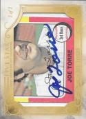 2016 Five Star Cut Signatures #FSCS-JT Joe Torre NM-MT Auto 1/1 Yankees