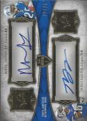 2011 Topps Supreme Dual Autographs #SDALY Mikel Leshoure/Titus Young NM-MT Auto 12/25