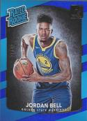 2017-18 Donruss Holo Blue Laser #163 Jordan Bell Rated Rookie NM-MT 1/49 Warriors