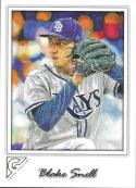 2017 Topps Gallery #69 Blake Snell NM-MT Rays