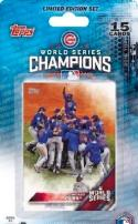 2016 Topps Chicago Cubs World Series Champions Blister Pack  Complete Baseball Set of 15 Cards