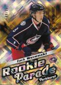 2016-17 Parkhurst Rookie Parade Gold #RP28 Zach Werenski NM-MT 86/99 Blue Jackets