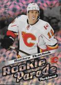 2016-17 Parkhurst Rookie Parade #RP23 Matthew Tkachuk NM-MT 134/999 Flames