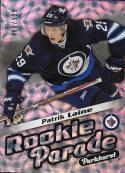 2016-17 Parkhurst Rookie Parade #RP25 Patrik Laine NM-MT 489/999 Winn Jets