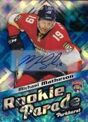 2016-17 Parkhurst Rookie Parade Blue Autograph #RP19 Michael Matheson NM-MT Auto Panthers