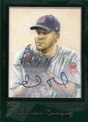 2017 Topps Gallery Autographs Green #44 Eduardo Rodriguez NM-MT Auto 18/99 Red Sox