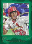 2017 Topps Gallery Green #81 Magneuris Sierra NM-MT 41/99 Cardinals