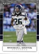 2017 Panini Playoff #283 Shaquill Griffin Rookie NM-MT Seahawks