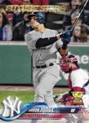 2018 Topps #1 Aaron Judge NM-MT Yankees