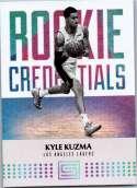 2017-18 Panini Status Rookie Credentials #11 Kyle Kuzma NM-MT
