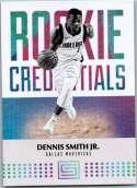 2017-18 Panini Status Rookie Credentials #32 Dennis Smith Jr. NM-MT
