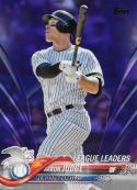 2018 Topps Purple Toys R US #111 Aaron Judge NM-MT New York Yankees