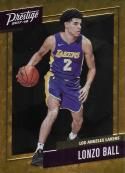2017-18 Panini Prestige Micro Etch Rookies Orange #2 Lonzo Ball NM-MT Lakers