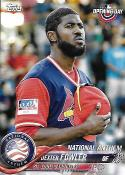 2018 Topps Opening Day National Anthem #NA-DF Dexter Fowler NM-MT Cardinals