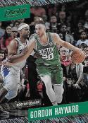 2017-18 Panini Prestige Rain #22 Gordon Hayward NM-MT Celtics