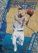 2017-18 Panini Prestige Hardcourt Heroes Rain #13 Kristaps Porzingis NM-MT Knicks