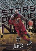 2017-18 Panini Prestige Stars of the NBA Rain #2 LeBron James NM-MT Cavaliers