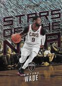 2017-18 Panini Prestige Stars of the NBA Rain #11 Dwyane Wade NM-MT Cavaliers