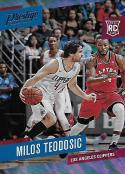 2017-18 Panini Prestige Mist #195 Milos Teodosic Rookie NM-MT Clippers