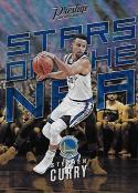 2017-18 Panini Prestige Stars of the NBA Mist #6 Stephen Curry NM-MT Warriors