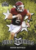 2018 Leaf Draft Field Generals #FG-01 Baker Mayfield NM-MT