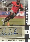2014 SAGE Hit Autographs #A60 Asa Watson NM-MT Auto