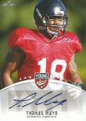 2012 Leaf Young Stars Autographs #TM1 Thomas Mayo NM-MT MEM Auto